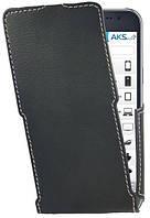 Чехол Status Side Flip Series Samsung J700 Galaxy J7 Black Matte, фото 1