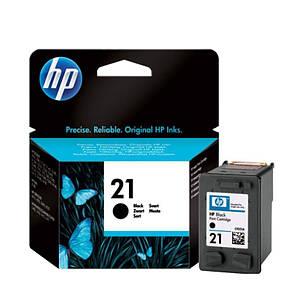 Картридж HP 21 Black Original (C9351AE) 190 стр. чёрный, оригинальный