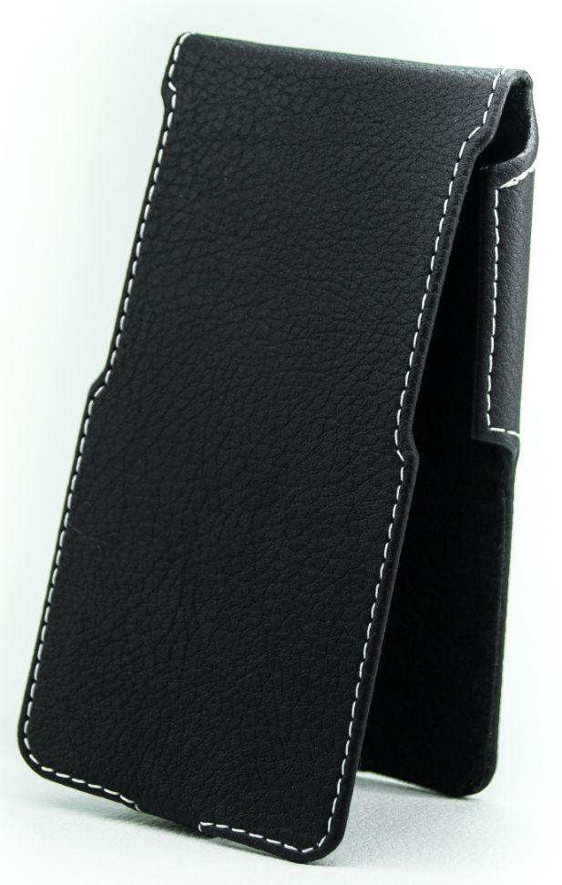Чехол Status Side Flip Series ZTE Blade X3 Black Matte