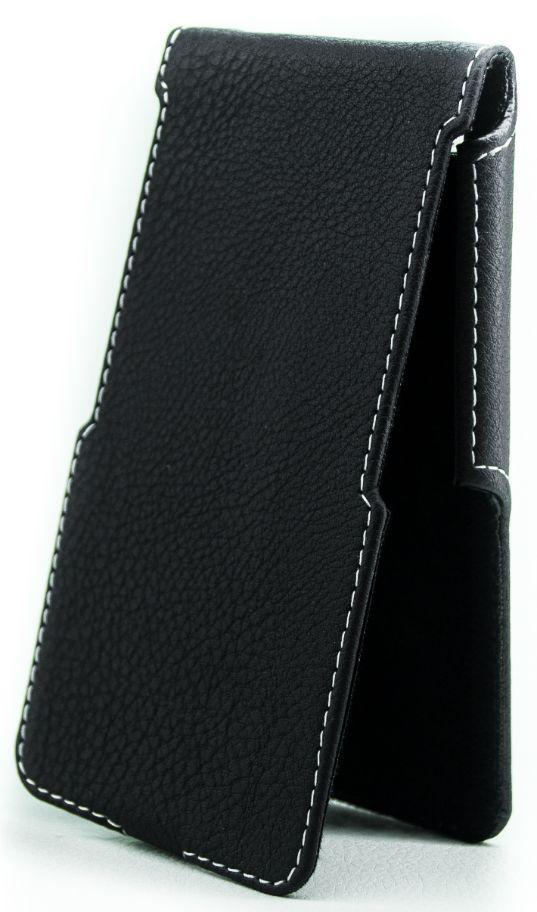Чехол Status Side Flip Series Blackview Omega Pro Black Matte