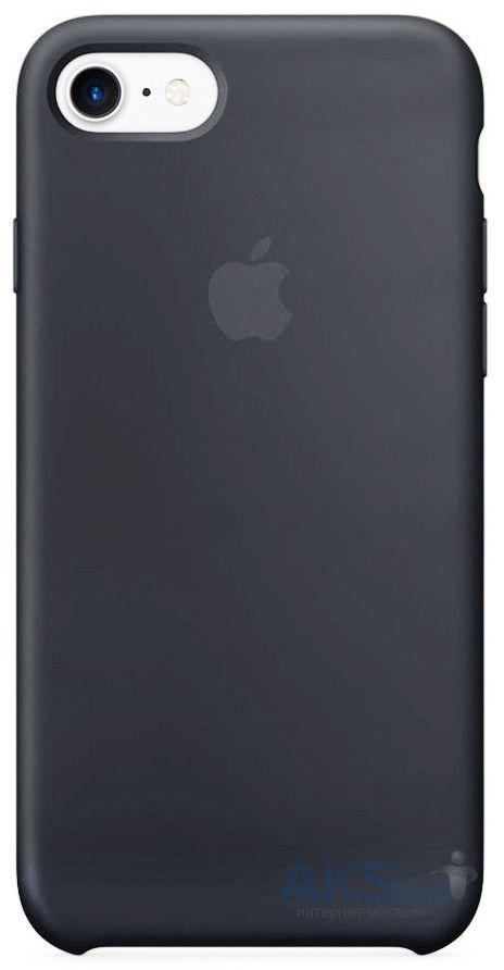 Чехол Apple Silicone Case iPhone 7, iPhone 8 Space Gray (MMX22_High Copy)