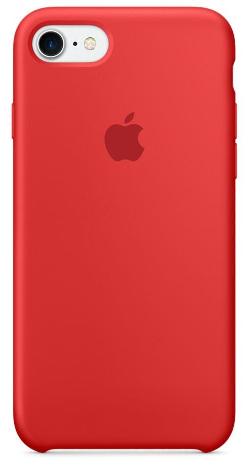Чехол Apple Silicone Case iPhone 7, iPhone 8 Red (MQGP2_High Copy)
