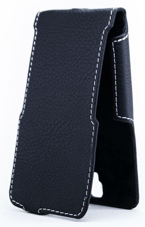 Чехол Status Side Flip Series Lenovo Vibe P1 Black Matte