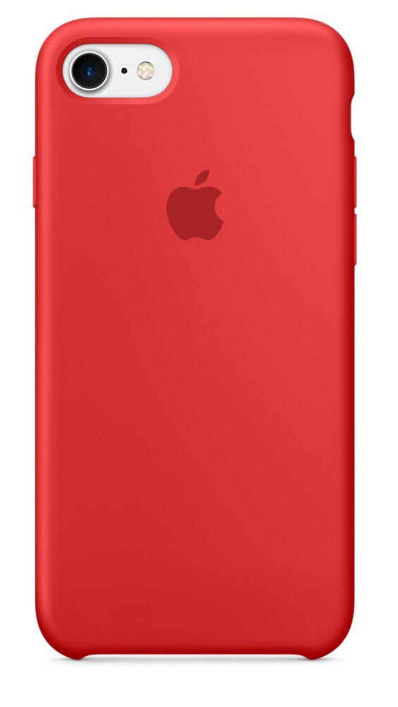 Чехол Apple Silicone Case iPhone 5, iPhone 5S, iPhone SE Red_High Copy