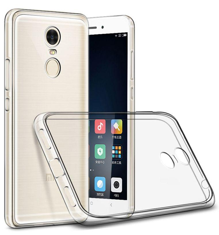 Чехол 1TOUCH TPU Ultra Thin Air Xiaomi Redmi Note 4X Clear