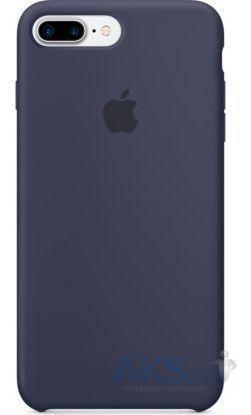 Чехол Apple Silicone Case Apple iPhone 7 Plus, iPhone 8 Plus Midnight Blue_High Copy