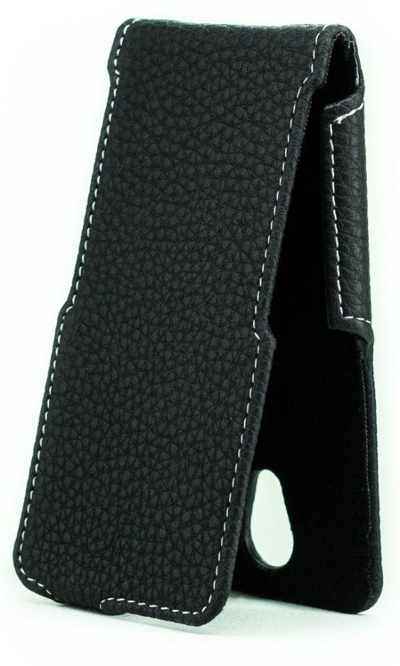 Чехол Status Side Flip Series Meizu M5 Black Matte