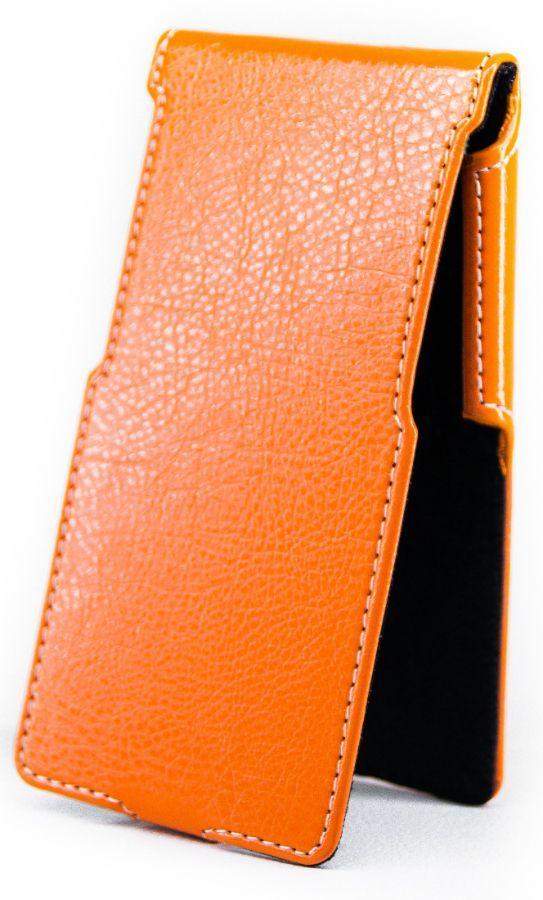 Чехол Status Side Flip Series Sony Xperia Z5 E6603, Z5 E6653, Z5 E6683 Orange