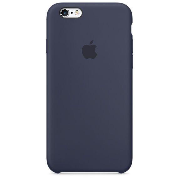 Чехол Apple Silicone Case iPhone 6 Plus, iPhone 6S Plus Midnight Blue_High Copy