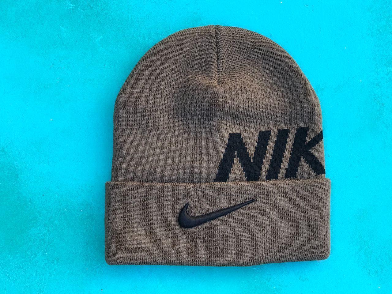 Шапка Nike  / шапка найк/ шапка женская/шапка мужская/хаки