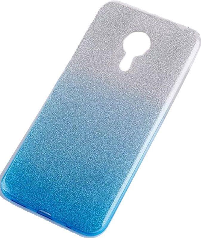 Чехол TOTO TPU Case Rose Series Gradient Meizu M5s Turquoise (F_52326)
