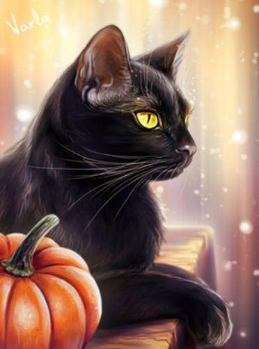 """Картина по номерам EKTL2011_O 30*40см """"Кошка"""" OPP (холст на раме с краск.кисти)"""