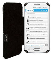 Чехол Status Book Series Samsung S7562 Galaxy S Duos Black Matte, фото 1