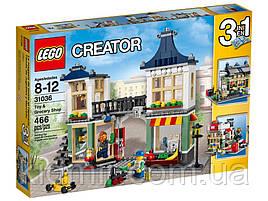 Lego Creator 31036 Конструктор Лего Бакалейно-игрушечный магазин