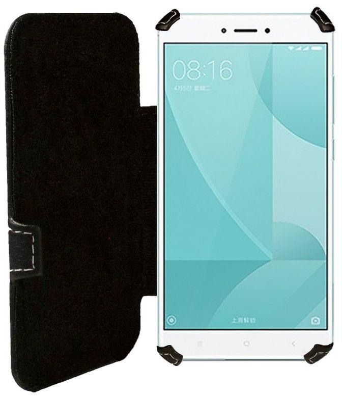 Чехол Status Book Series Xiaomi Redmi Note 4X Black Matte