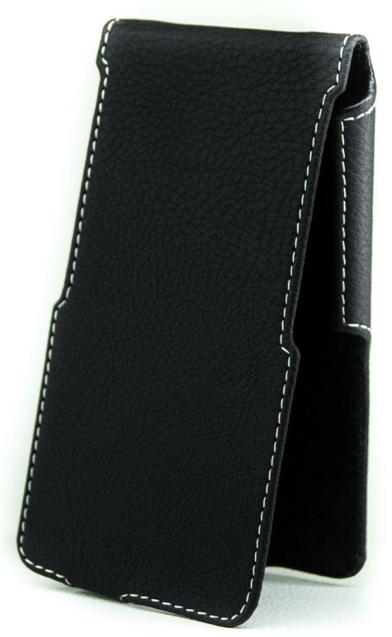 Чехол Status Side Flip Series Blackview A7 Black Matte