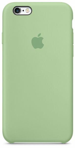 Чехол Apple Silicone Case iPhone 6, iPhone 6S Mint_High Copy