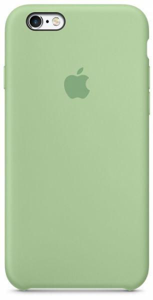 Чехол Apple Silicone Case iPhone 6 Plus, iPhone 6S Plus Mint_High Copy