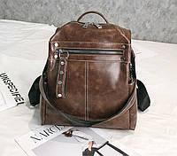 Стильный женский рюкзак сумка 2 в 1