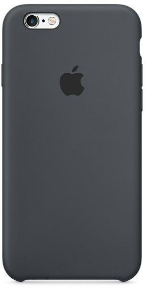 Чехол Apple Silicone Case iPhone 6 Plus, iPhone 6S Plus Space Gray_High Copy