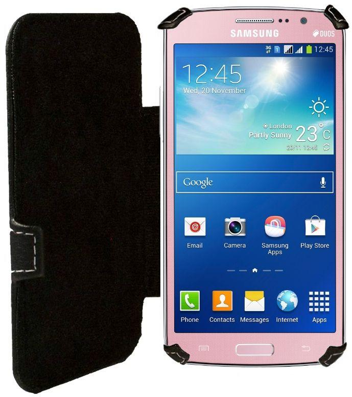 Чехол Status Book Series Samsung G7102 Galaxy Grand 2 Duos Black Matte