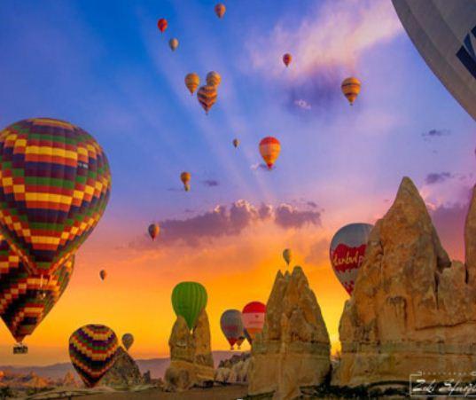 """Картина по номерам EKTL1748_O 30*40см """"Воздушные шары"""" OPP (холст на раме с краск.кисти)"""