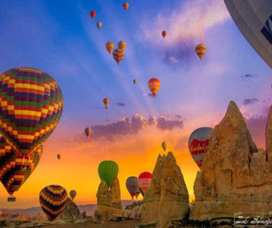 """Картина по номерам EKTL1748_O 30*40см """"Воздушные шары"""" OPP (холст на раме с краск.кисти), фото 2"""