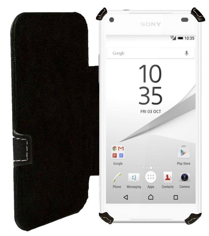 Чехол Status Book Series Sony Xperia Z5 Compact E5823 Black Matte