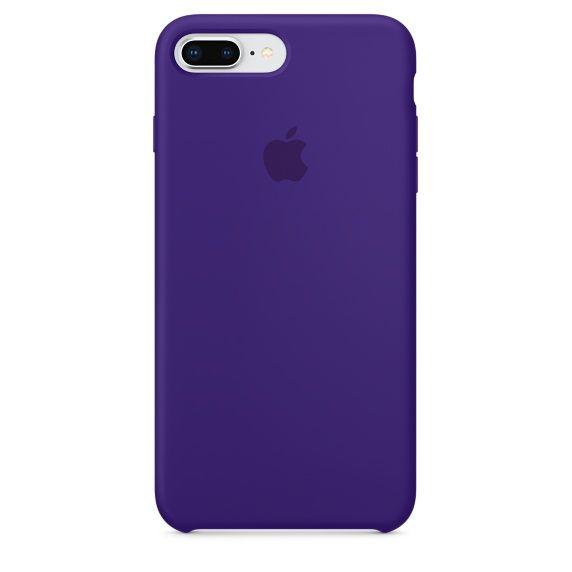 Чехол Apple Silicone Case iPhone 7 Plus, iPhone 8 Plus Violet_High Copy