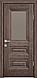 """Двері засклені міжкімнатні новий стиль Прованс """"Камілла BR,G,GRF"""" 60,70,80,90 см горіх сибірський, фото 4"""