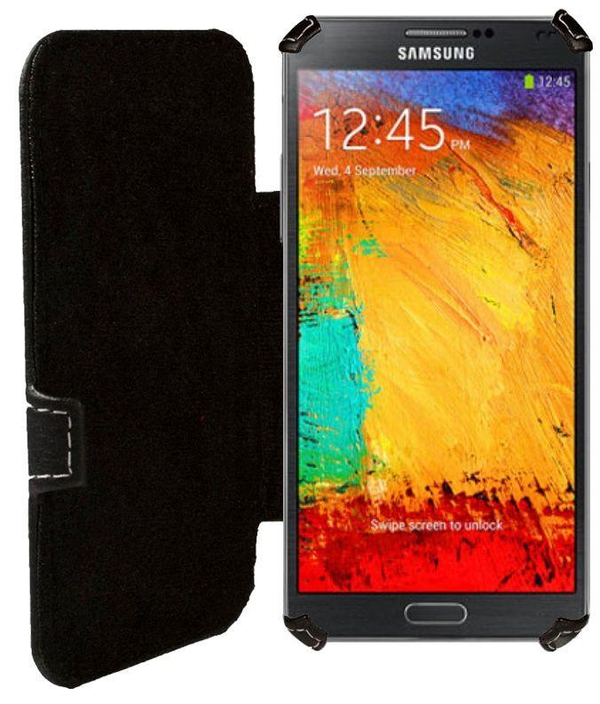 Чехол Status Book Series Samsung N9000 Galaxy Note 3 Black Matte