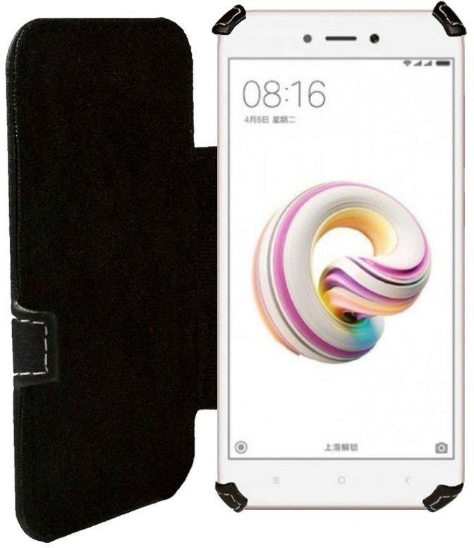Чехол Status Book Series Xiaomi Redmi 5a Black Matte