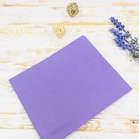 Пеленка детская хлопковая светло-фиолетовая №47 Lukoshkino ® Размер 80см*100см. ХП-361