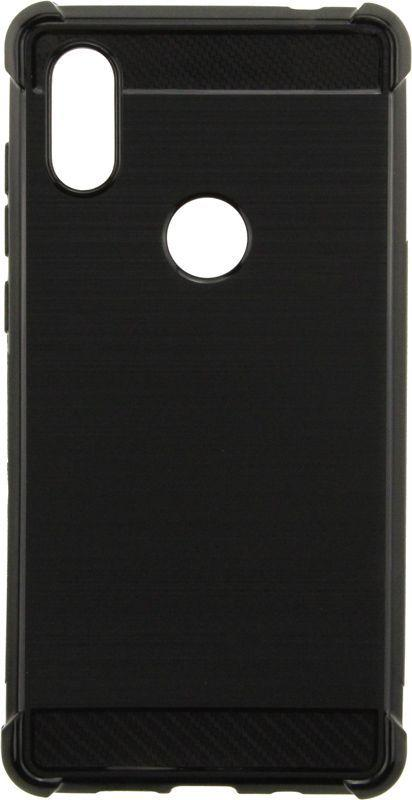 Чехол TOTO TPU Shockproof Carbon Brush Case Xiaomi Mix 2S Black (F_62988)