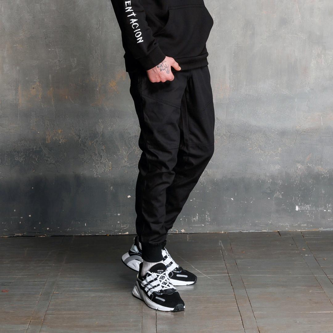 Штаны джоггеры с резиновой молнией XL