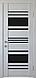 """Двері засклені міжкімнатні новий стиль Віва """"Ніцца BLK,G,GRF"""" 60,70,80,90 см баварський бук, фото 2"""