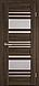 """Двері засклені міжкімнатні новий стиль Віва """"Ніцца BLK,G,GRF"""" 60,70,80,90 см баварський бук, фото 3"""