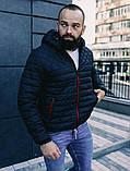 Чоловіча осіння куртка Asos (Black), стьобаний чоловіча куртка, фото 2