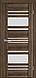 """Двері засклені міжкімнатні новий стиль Віва """"Ніцца BLK,G,GRF"""" 60,70,80,90 см баварський бук, фото 5"""