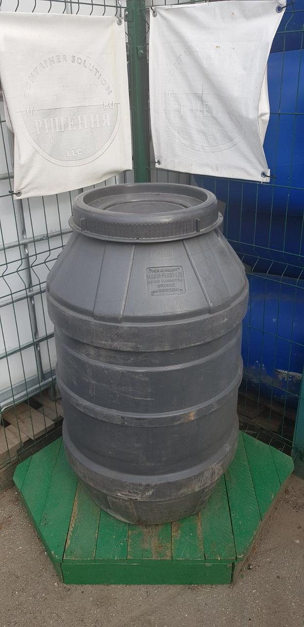 0241-24/1: С доставкой в Кривой Рог ✦ Бочка (220 л.) б/у пластиковая