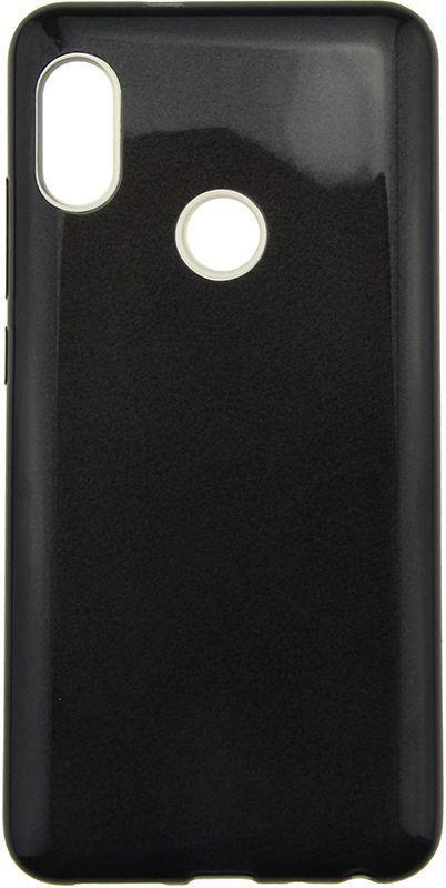 Чехол TOTO TPU Case Rose series 3 IN 1 Xiaomi Redmi Note 5 Black (F_62504)