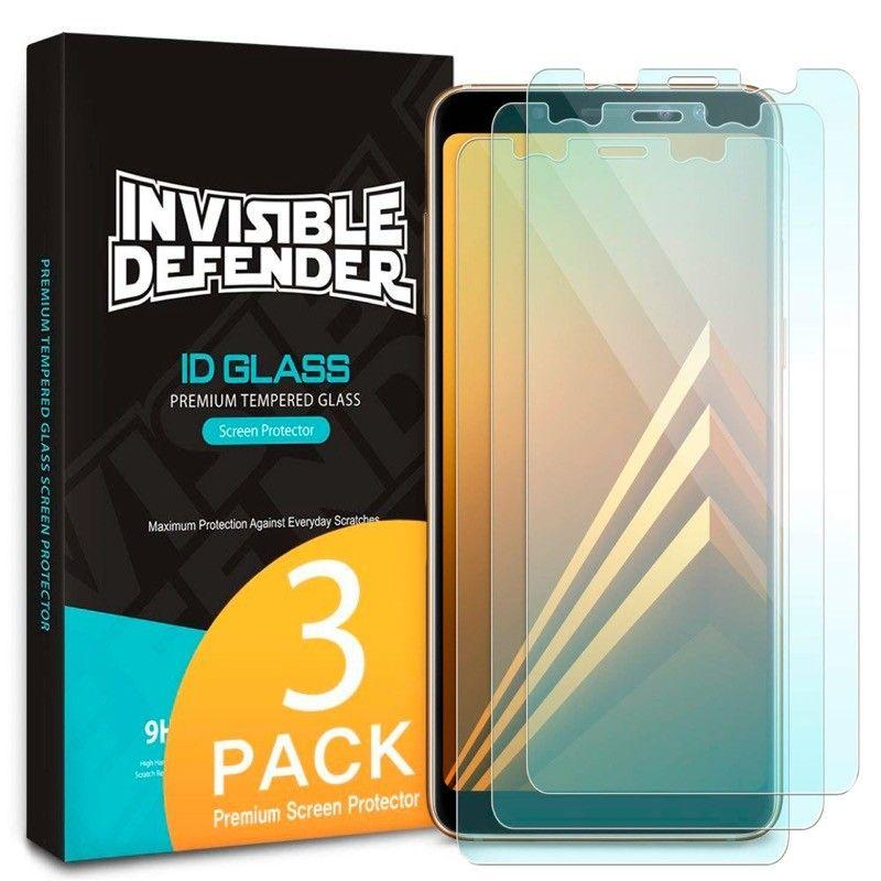 Защитное стекло Ringke Premium Tempered Glass Samsung A530 Galaxy A8 2018 Transparent