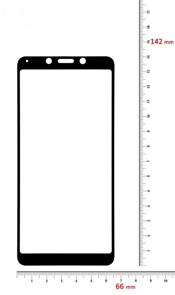 Защитное стекло BeCover Xiaomi Redmi 6, Redmi 6A Black (702442)