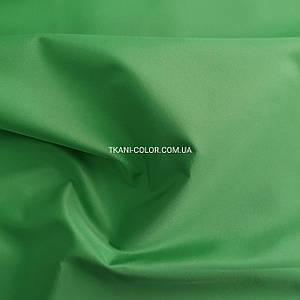 Ткань плащевка на основе президент зеленый