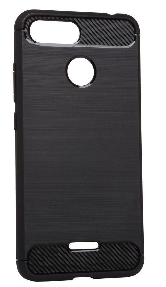 Чехол BeCover Carbon Series Xiaomi Redmi 6 Black (702460)