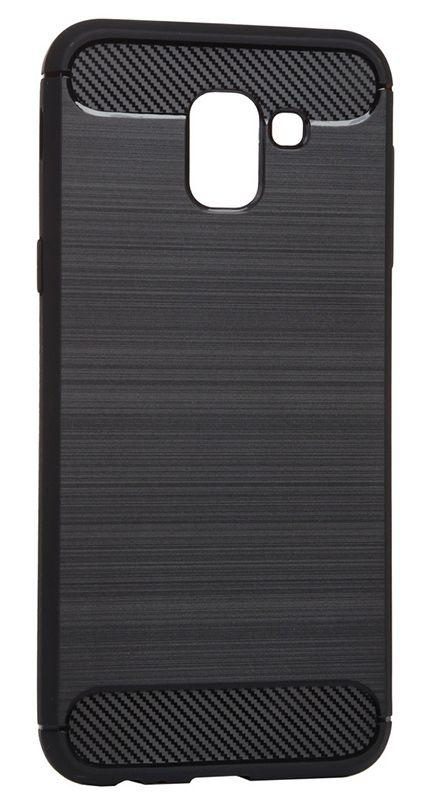 Чехол BeCover Carbon Series Samsung J600 Galaxy J6 2018 Black (702470)