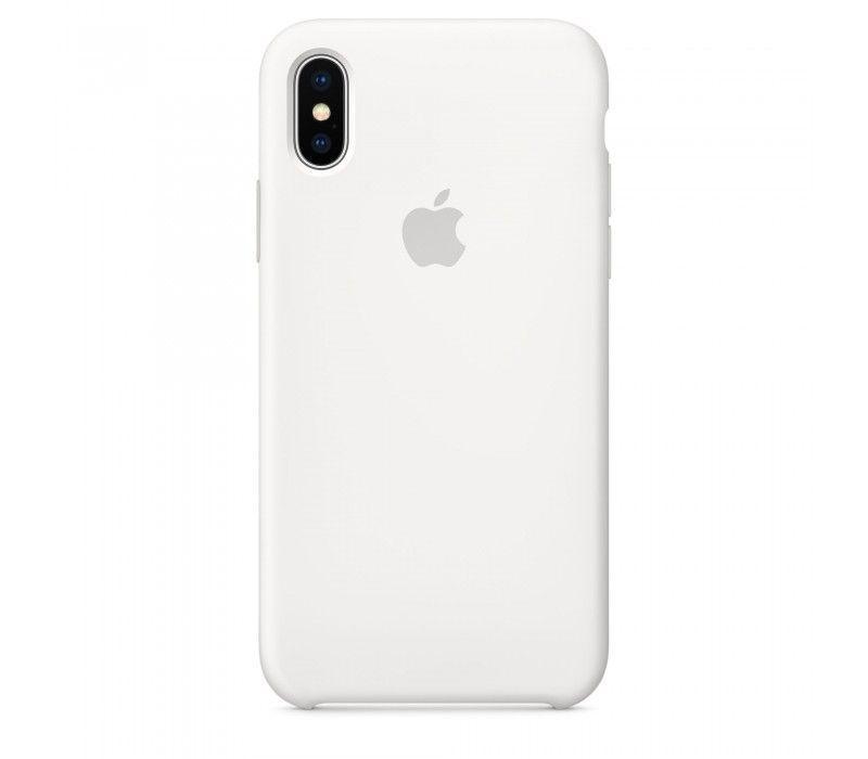 Чехол Apple Silicone Case iPhone XS Max White_High Copy
