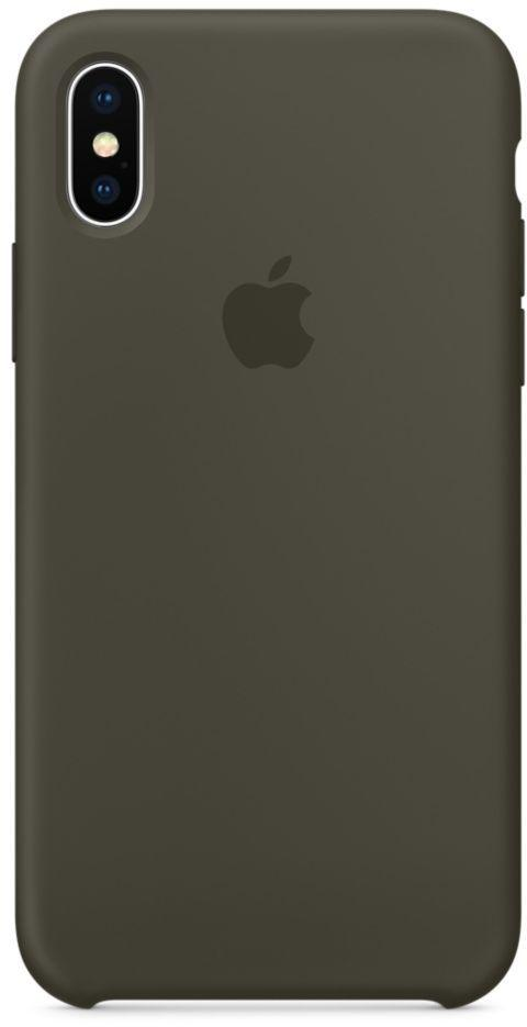 Чехол Apple Silicone Case iPhone XS Max Space Gray_High Copy