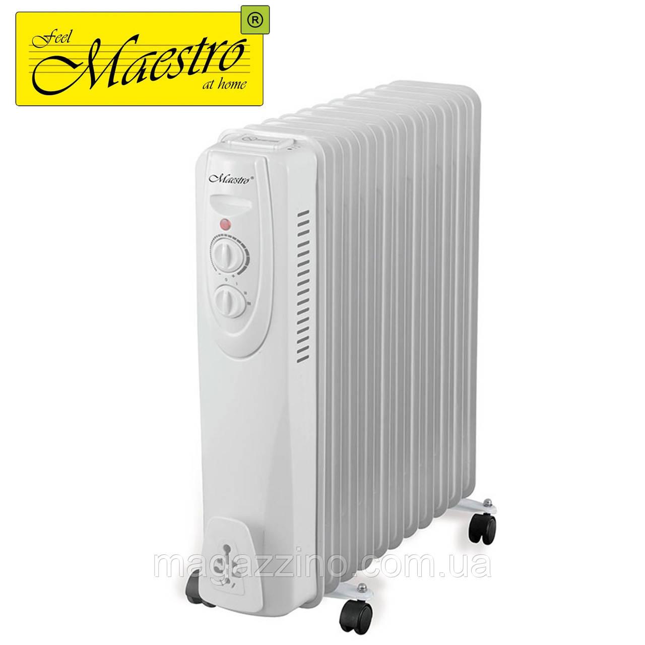 Масляний радіатор Maestro MR-950-11, 2500 Вт.