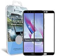 Защитное стекло MakeFuture Full Cover Huawei Honor 9 Lite Black (MGFC-H9LB), фото 1